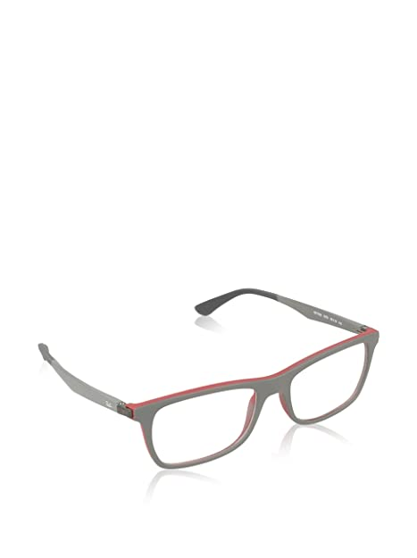 ea413cb025 Eyeglasses Ray-Ban Optical RX 7062 5576 TOP GREY ON MATTE BORDEAUX   Amazon.ca  Jewelry