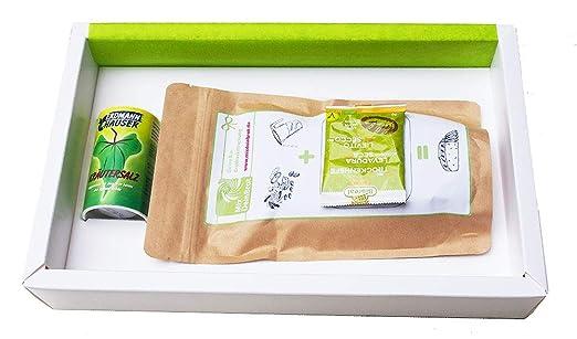 Geschenkpaket Brot Und Salz Alles Liebe Mit Kräutersalz Von Mixdeinbrot Brot Und Salz Geschenk Zum Einzug Salz Und Brot Backmischung Für