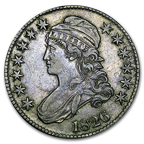 - 1826 Capped Bust Half Dollar XF Half Dollar Extremely Fine