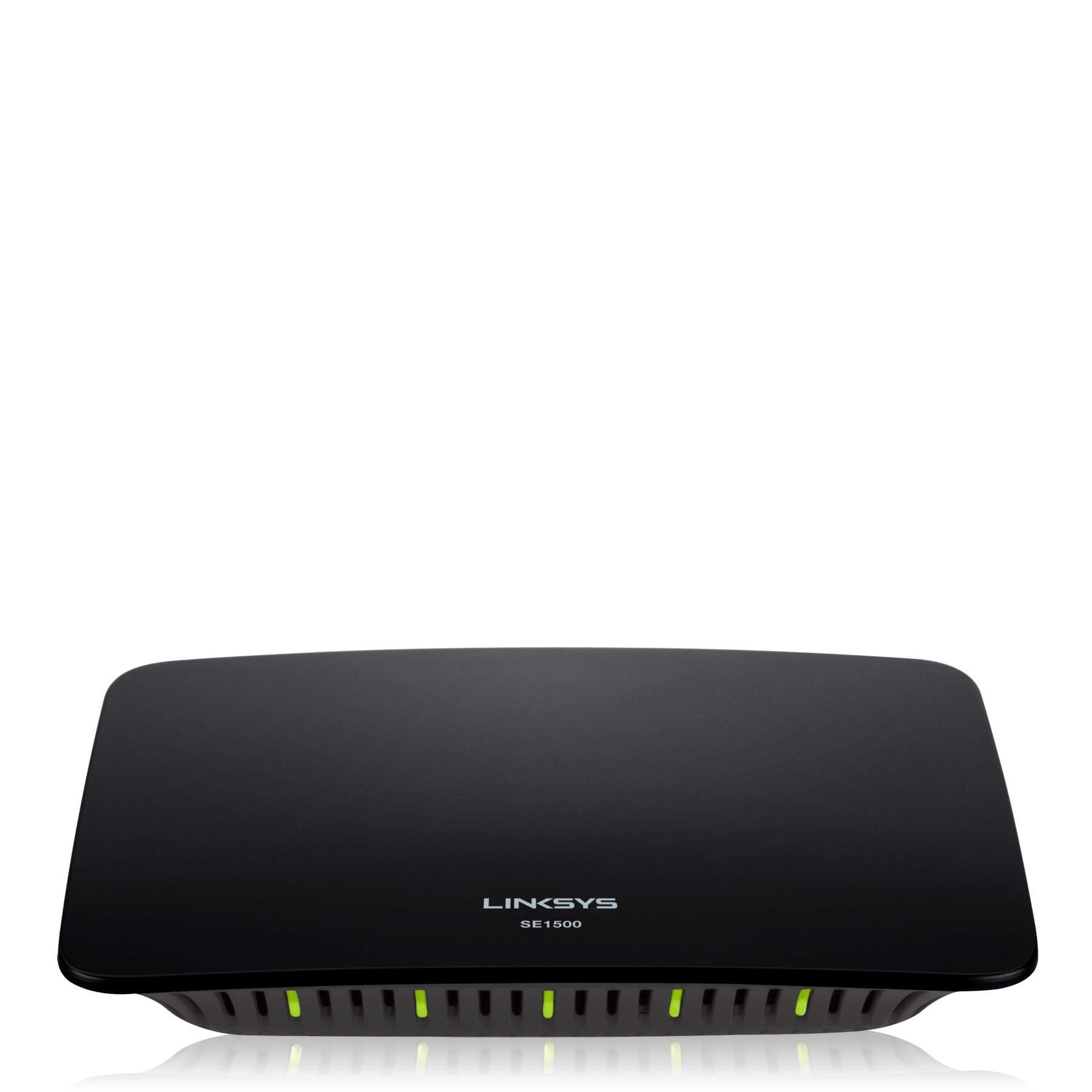 Linksys SE1500 5-Port Fast Ethernet Switch by Linksys