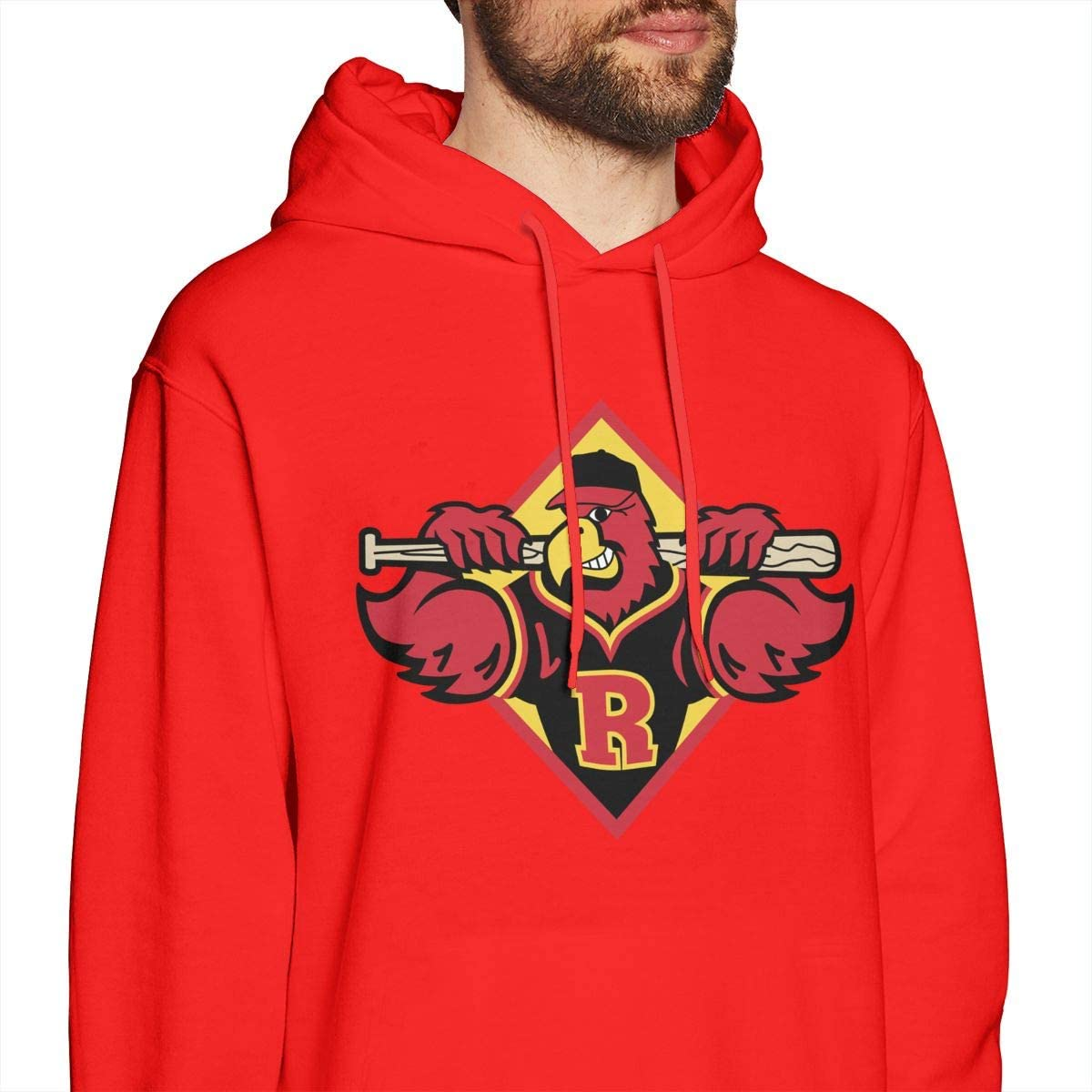 Rochester Red Wings Baseball Mens Leisure Keep Warm Sweater