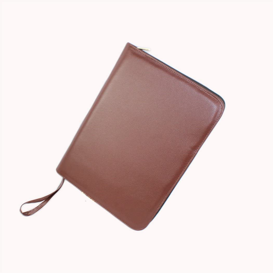 Aplustore Gullor PU Leather Fountain Pen Case for 48 Pens BC23937 Brown