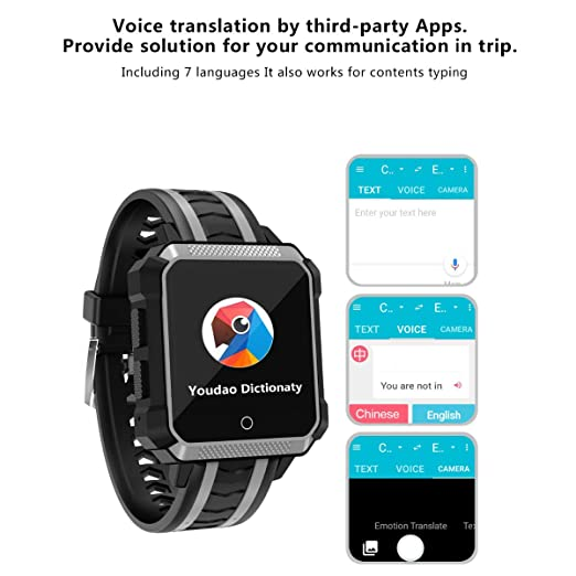 JVSISM H7 Smartwatch Android 6.0 MTK 6737 1GB 8GB 600 MAh ...