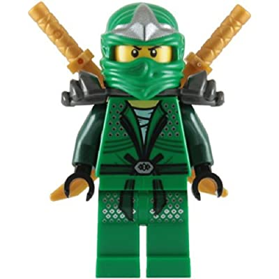 Lloyd ZX (Green Ninja) with Dual Gold Swords - LEGO Ninjago: Toys & Games