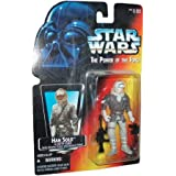 Star Wars The Power of the Force Han Solo in Hoth Gear Figure