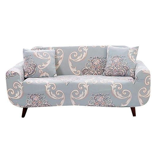 Enerhu - Fundas elásticas para sofá de Dos plazas ...