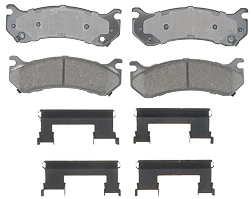 ACDelco 17D785CH Professional Ceramic Front Disc Brake Pad Set