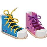 Small Foot Design - 6475 - Formes À Trier Et À Empiler - Chaussure À Lacer - Couleur