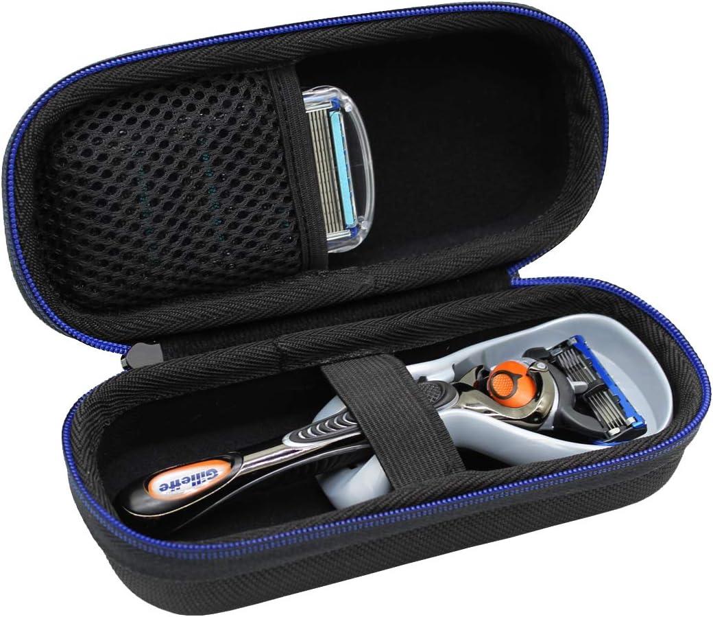 Duro Viaje Estuche Bolso Funda para Gillette Fusion ProGlide Power Maquina de afeitar por GUBEE