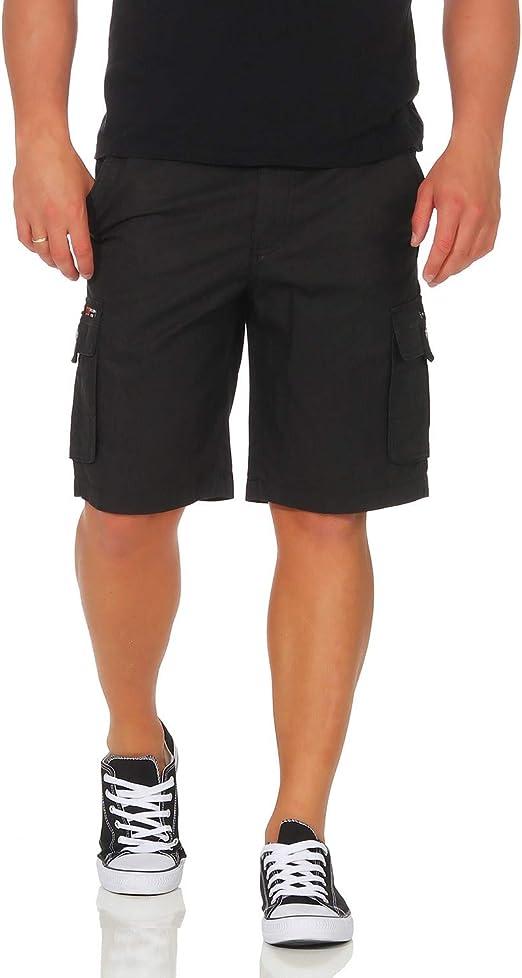 ZARMEXX Pantalón de algodón para Hombre Pantalón Corto de Bermudas ...