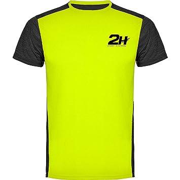 Camiseta Hombre técnica de pádel 2H Magnum, M: Amazon.es: Deportes ...