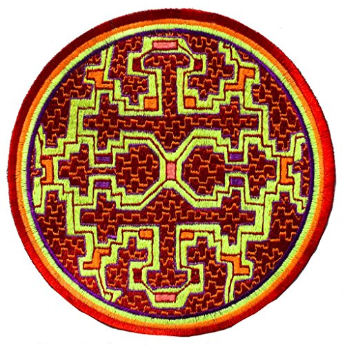 ImZauberwald Ayahuasca UV Patch 7.8 Inch DMT Shipibo, used for sale  Delivered anywhere in USA