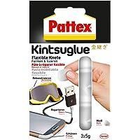Pattex PFK5W Kintsuglue flexibele klei wit/gemakkelijk vormbare kleefpasta voor het repareren, reconstruceren…
