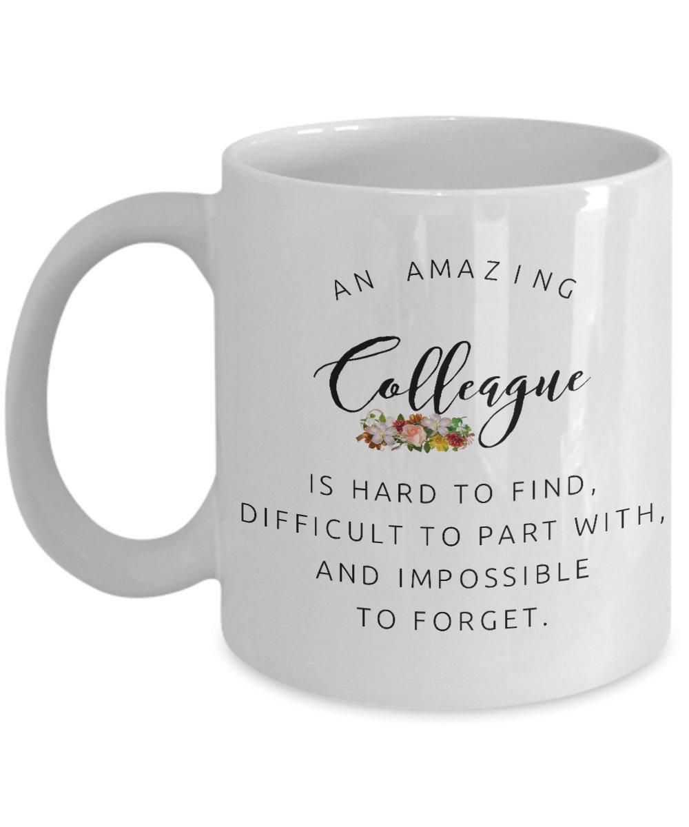 Coworkers Co-worker best mugs coffee tea cup gifts funny friend colleague Retirement boss Goodbye Leaving Farewell For Going Away Thank You leave chocolate white men women him her (Boss) MipoMall