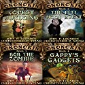 Ononokin Book Bundle #1: 4 Hilarious Adventures Audiobook by John P. Logsdon, Christopher P. Young Narrated by Jus Sargeant