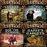 Ononokin Book Bundle #1: 4 Hilarious Adventures  | John P. Logsdon,Christopher P. Young
