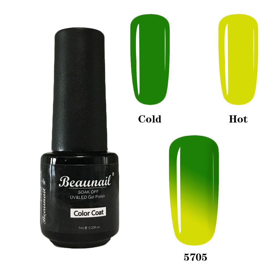 beaunail esmaltes de uñas en gel Temperatura Cambia de Color Gel ...