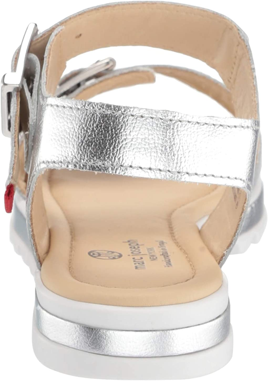 MARC JOSEPH NEW YORK Kids Boys//Girls Leather Made in Brazil Buckle Sandal Loafer