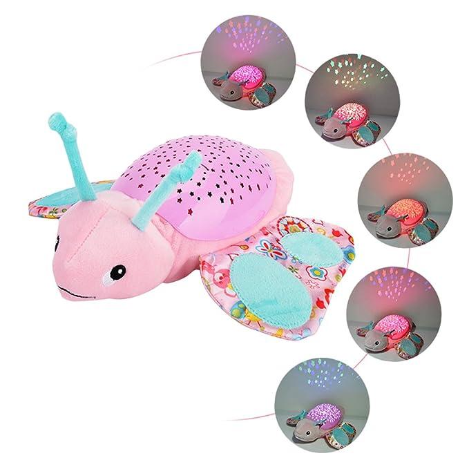 Per tortuga juguete bebé peluche luminosa y musical juguete LED ...
