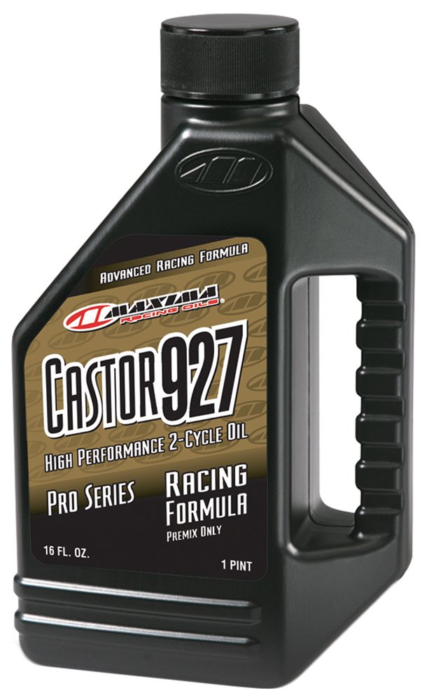 Maxima 23916 Castor 927 2-Stroke Racing Premix Oil - 16 oz. Bottle by Maxima