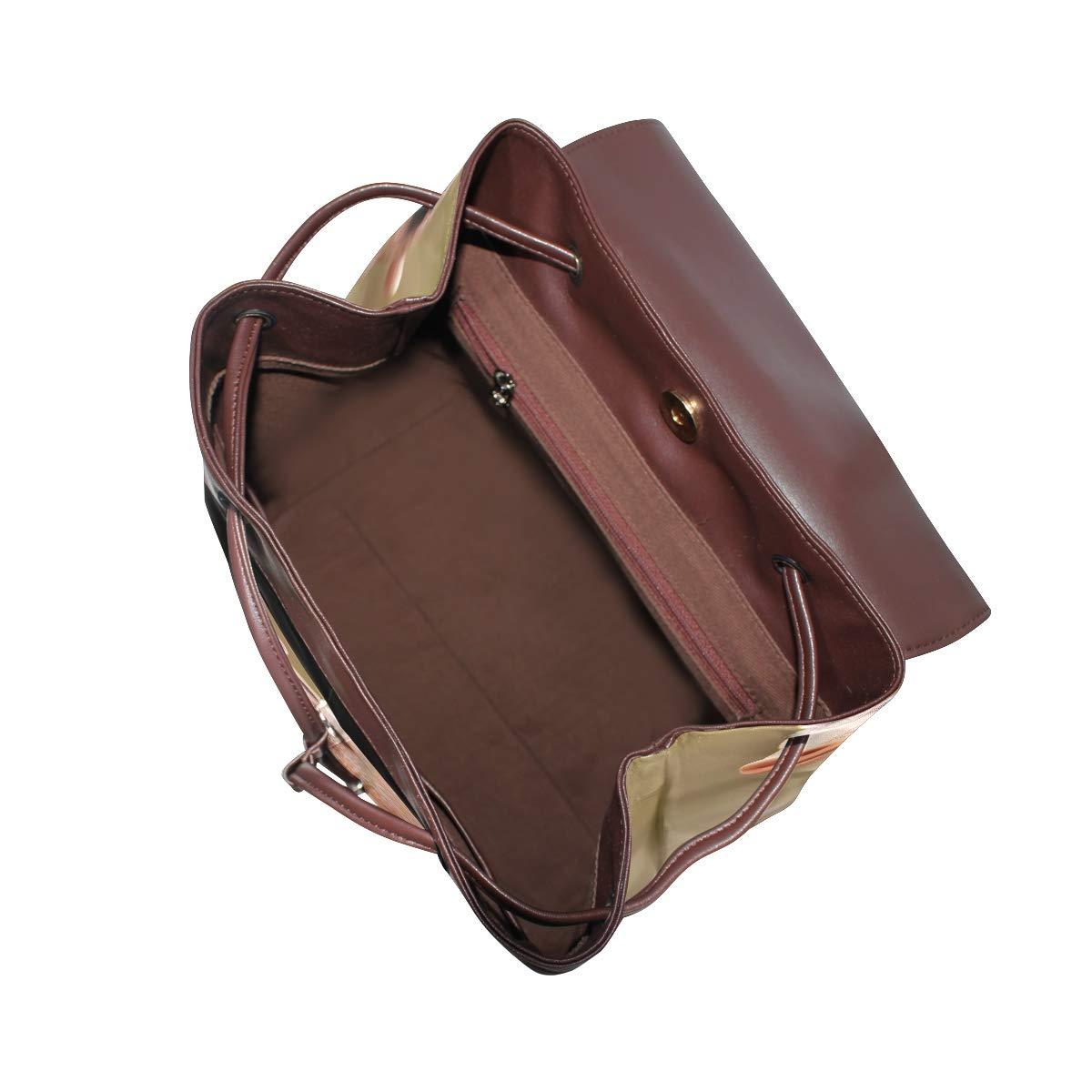 PU Leather Shoulder Bag,Little Cute Baby Pig Backpack,Portable Travel School Rucksack,Satchel with Top Handle
