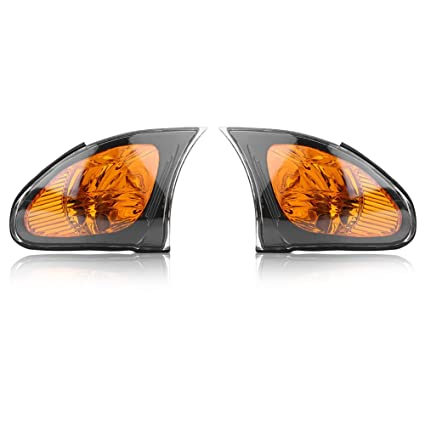 Turn Corner Lamp Lamp Shade Replacement for BMW E46 3-Series 4DR 2002-2005 1Pair Signal Light Covers