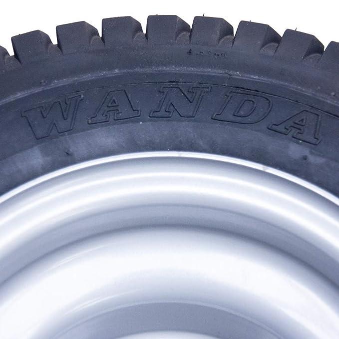 Parnells 13x5.00-6 Hierba Neumático Encendido Rueda 16mm ...