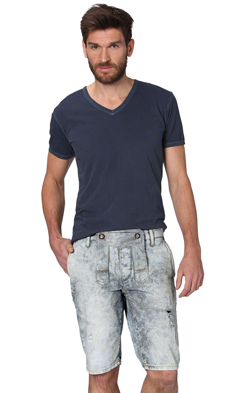 Trachtenshort Jeans Cash bluevintage