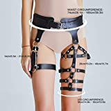 HOMELEX Women's Leg Harness Caged Thigh Holster