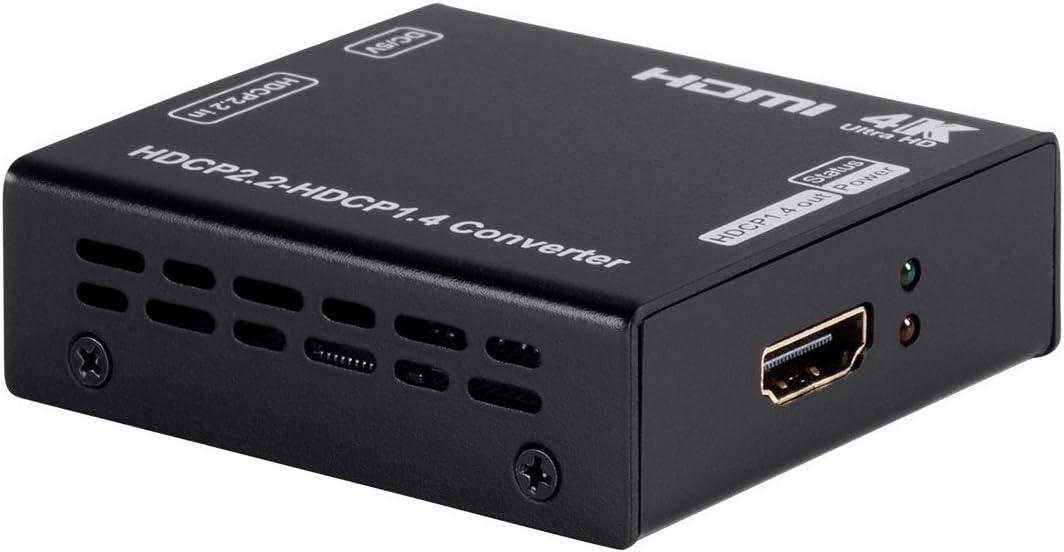 Monoprice 115242 Blackbird 4K Pro HDCP Converter, 2.2 to 1.4