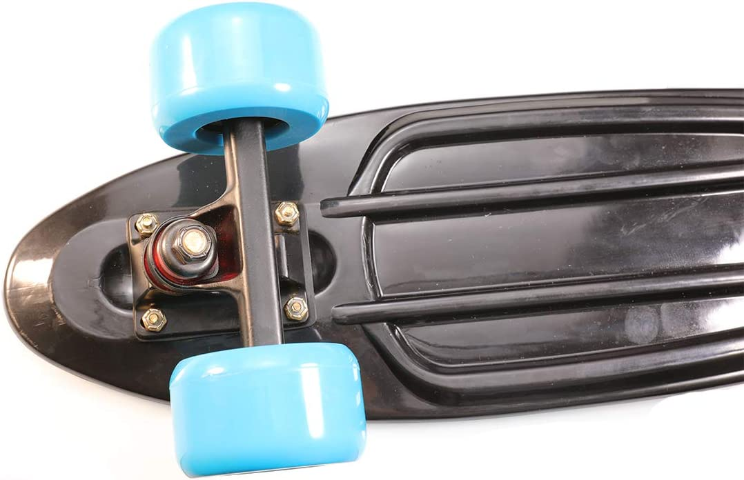vanpro Skateboard Deck Trucks Risers PU Shock Pads Mounting Hardware Screws Outfits Snow Golden, Pack of 1 Set