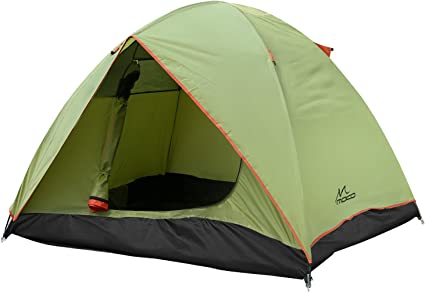 IDWO Camping Tent Instant Pop-up Tent Waterproof Ultralight Family Tent Outdoor Portable Double Layer Dome Tent
