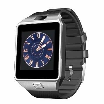 Montre Connectee ,Anding Smart Smart Watch Carte GSM SIM TF avec caméra réveil Podomètre Sleep