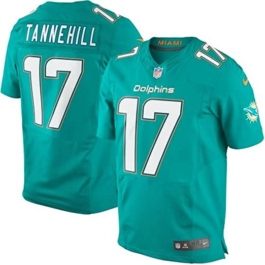 pretty nice fb902 46077 Amazon.com : Nike Ryan Tannehill Miami Dolphins Elite ...
