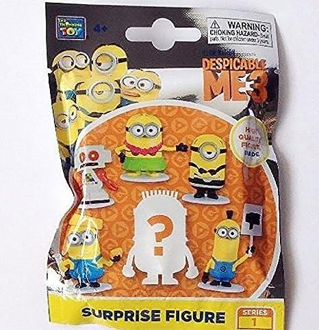 Amazon.com: Despicable Me 3 – Famous – misterio bolsa figura ...