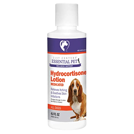 Amazon.com: hydrocortisone Loción Para Perros (4oz) 118 ml ...