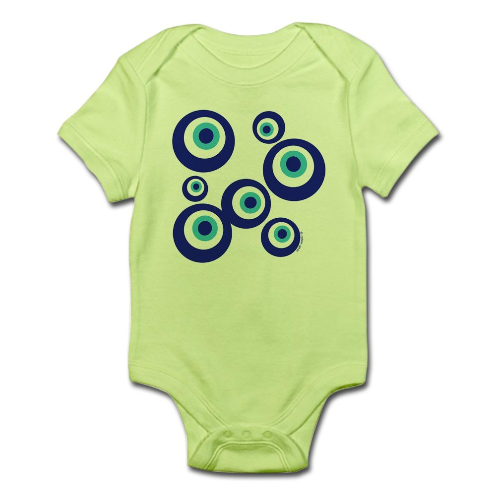 CafePress Mod Evil Eyes Cute Infant Bodysuit Baby Romper