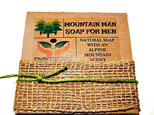 Mountain Man Soap For Men Comes In Gift Box Handmade With Natural Ingredients Like Coconut - Mens Uk Sunglasses Versace