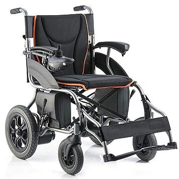 Amazon.com: Silla de ruedas portátil plegable y resistente ...