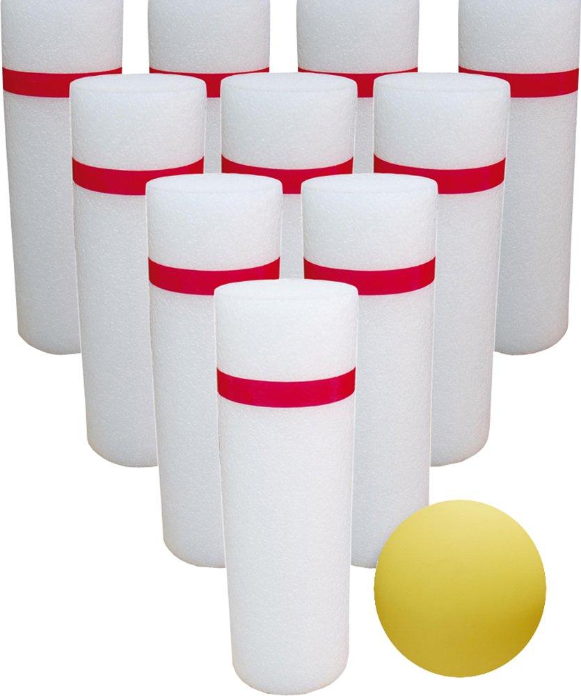 CreativeMinds UK Kids Fun Play attività bowling Style Knockdown Skittles pins set
