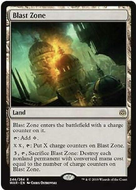 MTG Magic - R War of the Spark NM//M Blast Zone