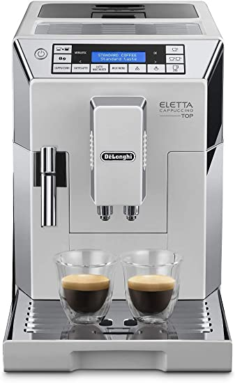 DeLonghi ELETTA CAPPUCCINO TOP ECAM 45.760.W Independiente ...