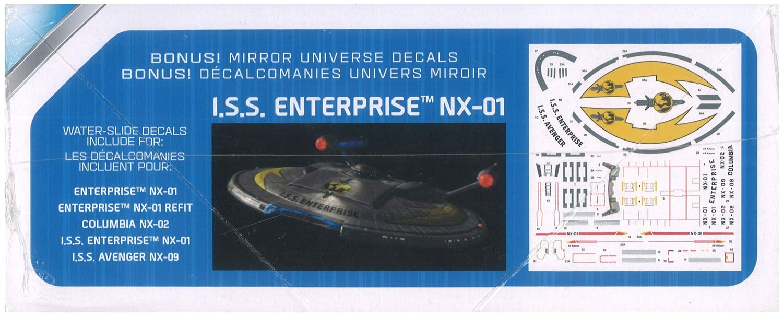 Snap Model kit Round 2 Star Trek NX-01 Enterprise