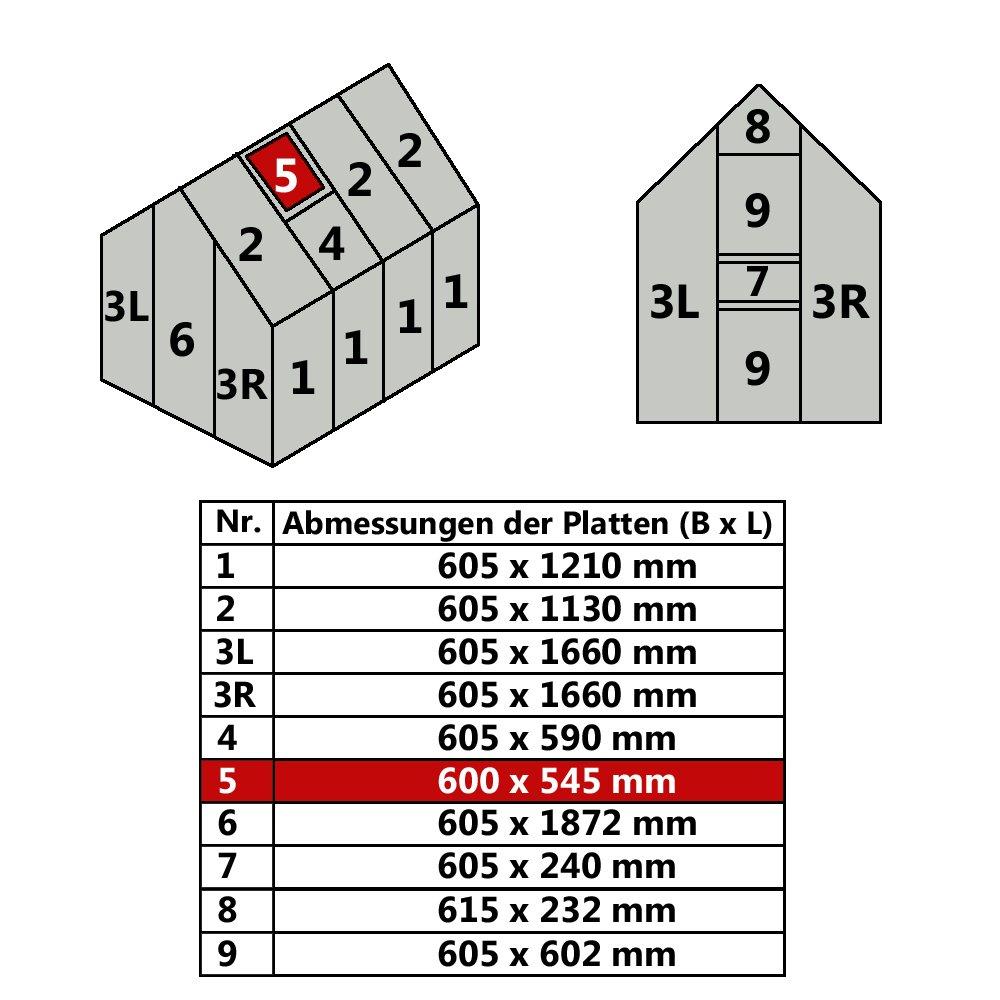 Befestigungsklammern für Gewächshausplatten (verzinkt 144 Stück im ...