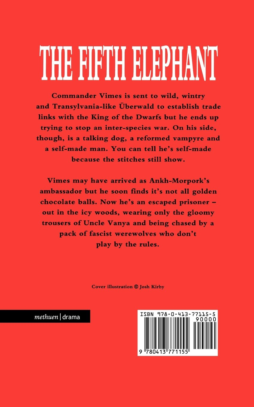 The Fifth Elephant: Stage Adaptation (Modern Plays)