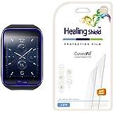 [Healing Shield] Samsung Gear S 專用 プレミアム クリアタイプ気泡レス フルカバー液晶保護フィルム 3枚