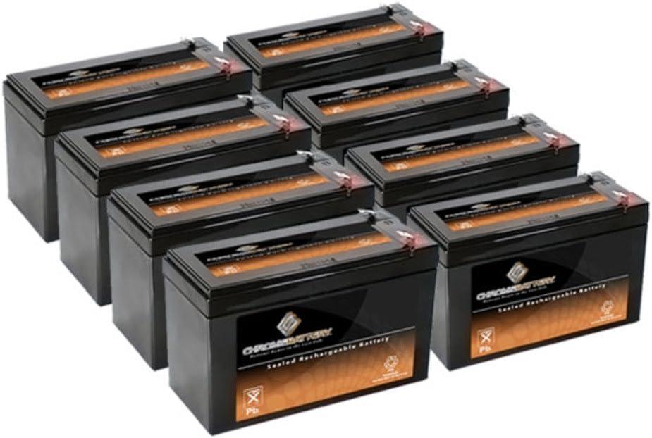 12V 7.4AH SLA Battery Replaces pxl12072 lc-r127r2p1 wp7.2-12 sh1228w - 8PK 61-wHxSiFjLSL1000_
