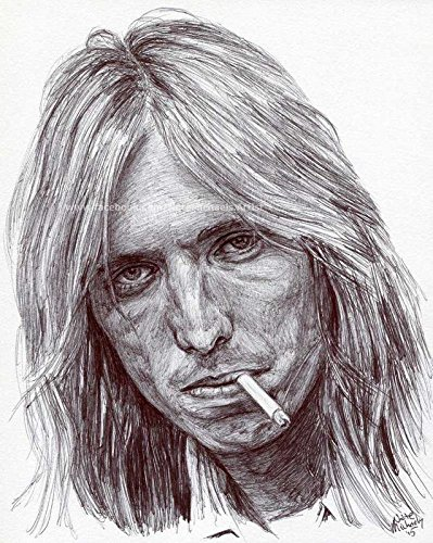 Get Motivation Tom Petty and The Heartbreakers Classic Rock Star Band Poster 12 x 18 -