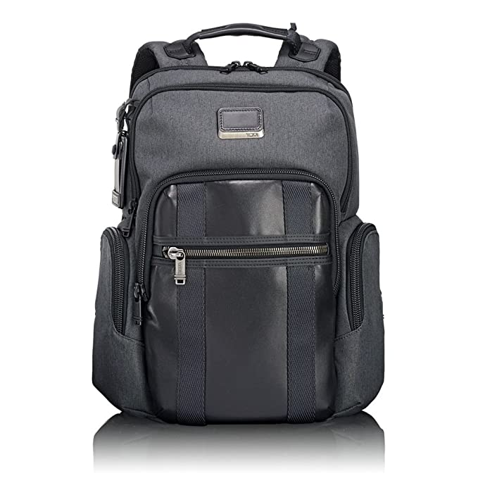 95bb8f4cd Amazon.com   TUMI - Alpha Bravo Nellis Laptop Backpack - 15 Inch Computer  Bag for Men and Women - Anthracite   Backpacks