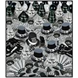 Silver Bonanza Asst for 100 Party Accessory (1 count)